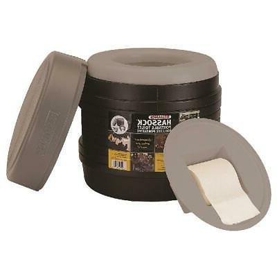 portable toilet camping removable inner bucket self