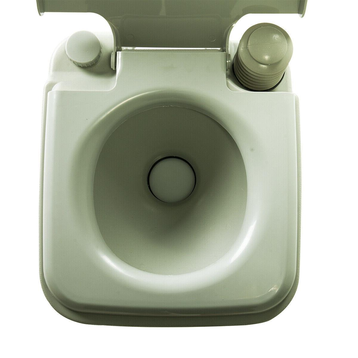 Portable Travel Camping Commode Potty Outdoor/Indoor 5
