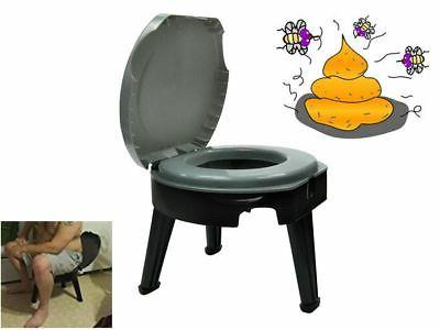 portable toilet fold to go camping rv