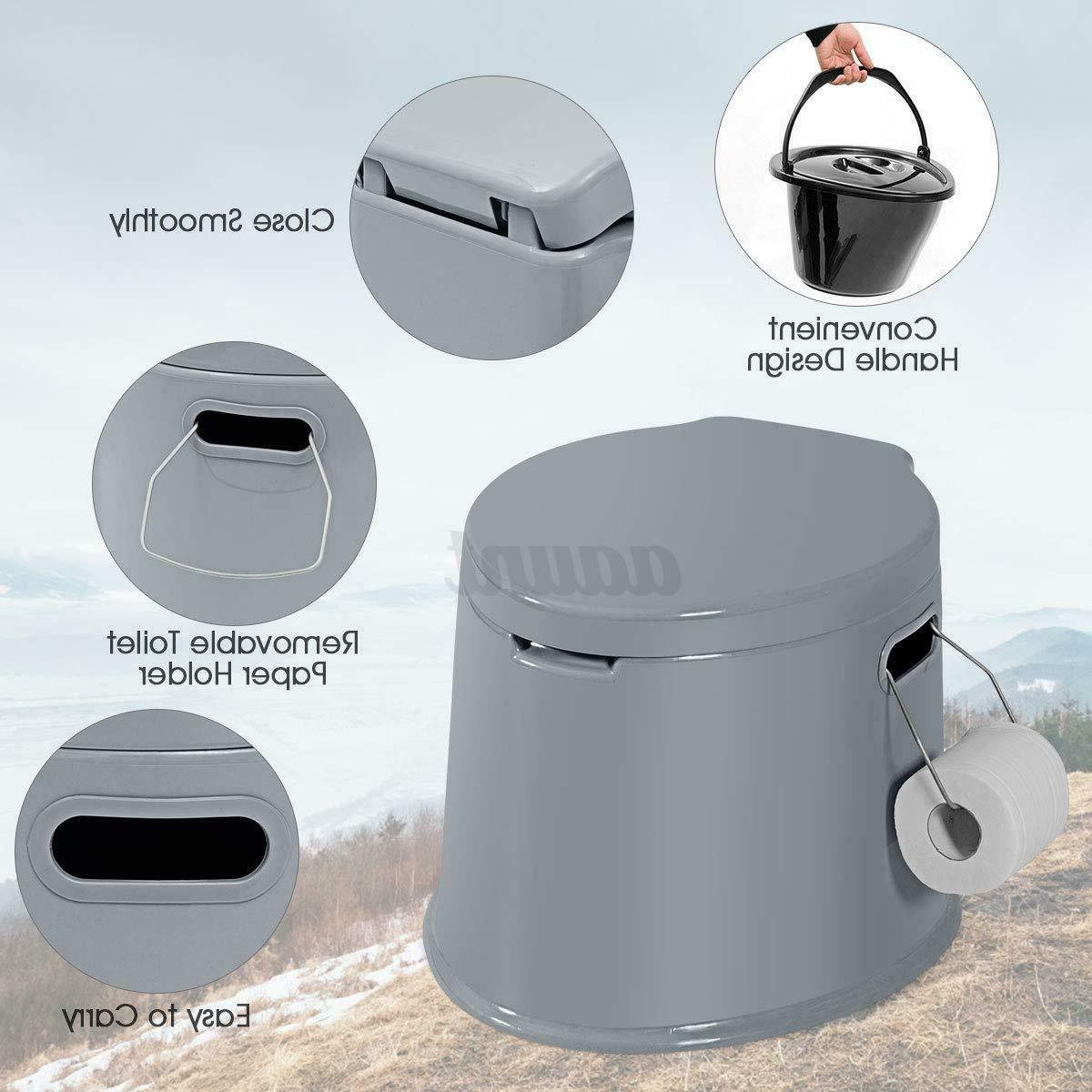 Portable Toilet Camping Outdoor Potty