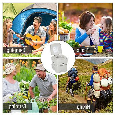Portable Toilet Tank Way Easy Camping Hiking