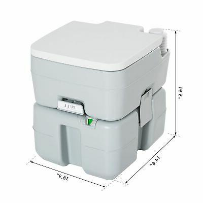 Outdoor Toilet Tank Level to Use