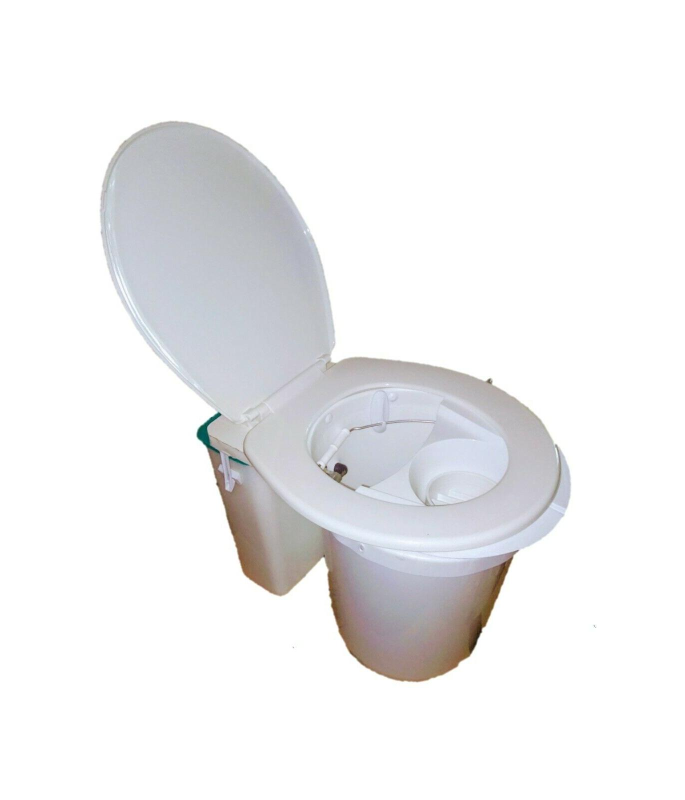 waterless portable compost toilet rv camping