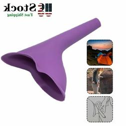 Ladies Female Convenient Portable Urinal Urine Funnel Campin