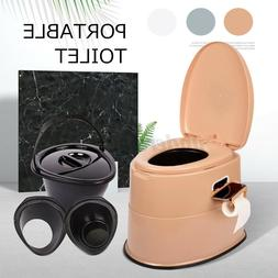 Large Portable Toilet Seat Travel Camping Hiking Outdoor Ind