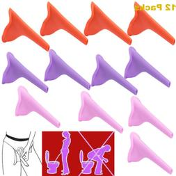 Lots Portable Female Women Urinal Toilet Funnel Camping Trav