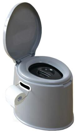 new basicwise portable travel toilet for camping