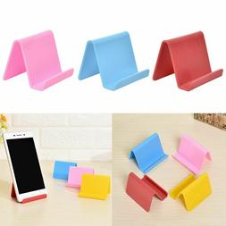 Phone Holder Plastic Mobile Phone Stand Portable Business Ca
