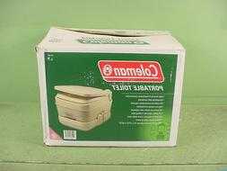 COLEMAN Portable 2.8 Gal Flushing Toilet 827-802T Camping Tr