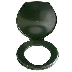 Portable Black Brand Honey Bucket Toilet Seat Cover Camping
