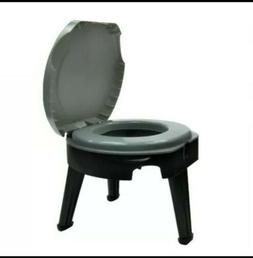 Portable Camping Fold-able Potty/Toilet Commode for Outdoor