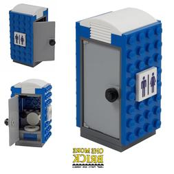 Portable Loo - Mobile Toilet - Lego CITY - printed pieces |