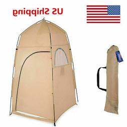 portable outdoor pop up tent camping shower