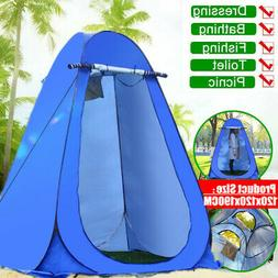 Portable Outdoor Shower Toilet Fitting Room Privacy Shelter