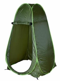 PORTABLE SHOWER TENT Outdoor Pop Up Camping Privacy Toilet C