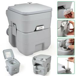 Portable Toilet 5 Gallon 20L Outdoor Camping Toilet Potty Gr