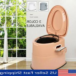 Portable Toilet Commode Camping Outdoor Indoor Potty Old Kid