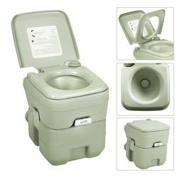 5 Gallon Portable Toilet Flush Travel Camping Outdoor/Indoor