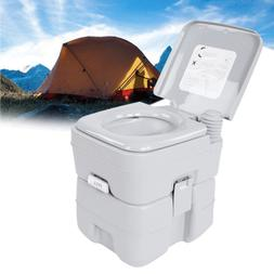 Portable Toilet  Flush Commode Camping Outdoor/Indoor Commod