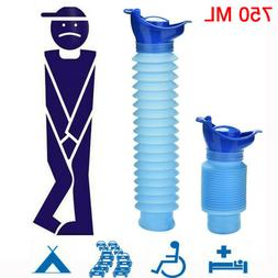 Portable Travel Male Female REUSABLE Camping Car Pee Urinal