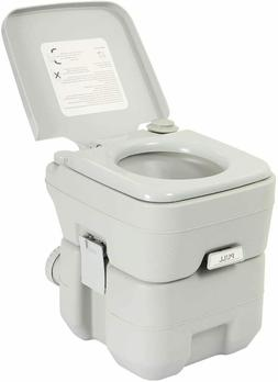 Portable Travel Toilet 5 gallon for Camping, Hiking, RV, Boa
