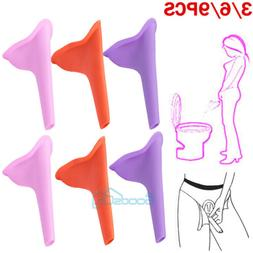 Portable Women Camping Urine Device Funnel Urinal Female Tra