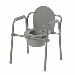 Potty Stool for Adult Senior Camode Toilet Chair Portable Be