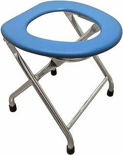Tall Commode - Portable Camping Toilet Chair - Lightweight Y