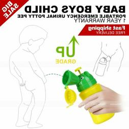 Travel AID Portable Potty Emergency Toddler Urinal Toilet Fo