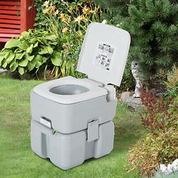 Outdoor Portable Toilet Flushable Tank Level Indicator Easy