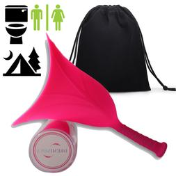 WOMEN FEMALE PORTABLE WEE URINAL OUTDOOR TRAVEL STAND UP PEE